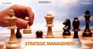 مدیریت استراتژیک تفکر استراتژیک