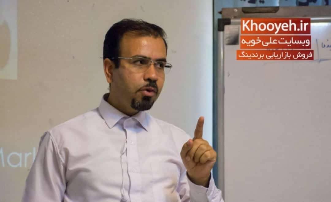 Photo of مصاحبه نشریه دنیای اقتصاد و انجمن پخش با استاد علی خویه
